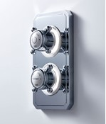 Belgravia Crosshead Dual Outlet (Shower / Shower)