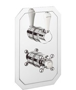Belgravia Lever thermostatic shower valve with 2 way diverter
