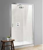 Classic Single Slider Shower Door
