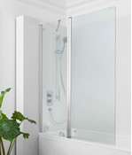 Click Double Bath Screen