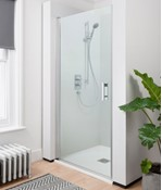 Click Hinged Shower Door