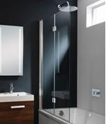 Design Double Bath Screen - Dual Inward Opening