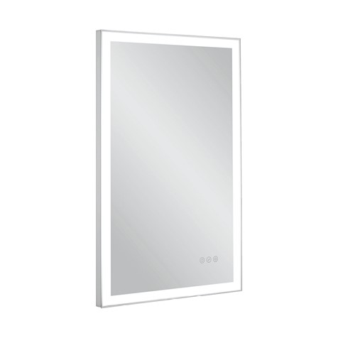 dune illuminated mirror 50 x 80 sku dn5080 crosswater bathrooms On miroir 50x80