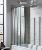 Edge Foldaway Bath Screen