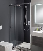 Edge Infold Shower Door