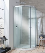 Edge Quadrant Double Door Shower Enclosure