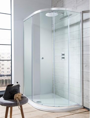 Edge Quadrant Single Door Shower Enclosure Width X Depth