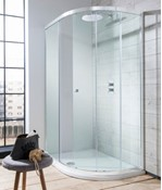 Edge Quadrant Single Door Shower Enclosure