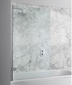 Elite Hinged Bath Screen