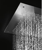 Illuminated showerhead