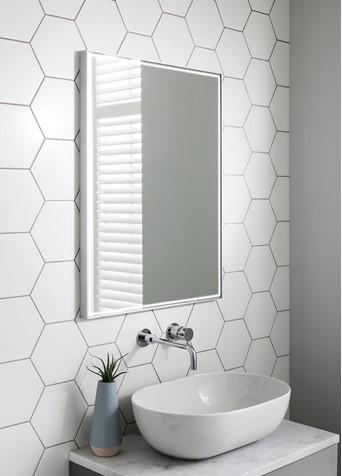 Mpro Lit Mirror 60 X 80 Sku Mp6080v Crosswater Bathrooms