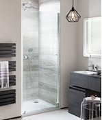 Pier Hinged Shower Door