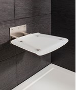 Square Wall Mounted Folding Shower Seat