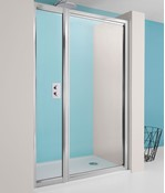 Supreme Pivot Shower Door with Inline Panel