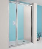 Supreme Pivot Shower Door with Inline Panel