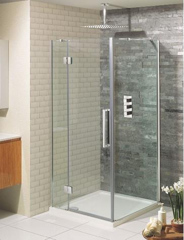 Ten Hinged Shower Door With Inline Panel In Showers Sku