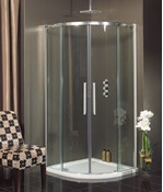 Ten Quadrant Double Door Shower Enclosure