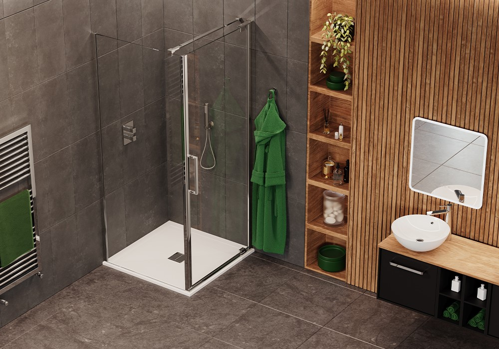 Luxury Showers | Opt for GALLERY 10 luxury walk in showers or OPTIX 10 luxury shower enclosures for a beautiful space to unwind.