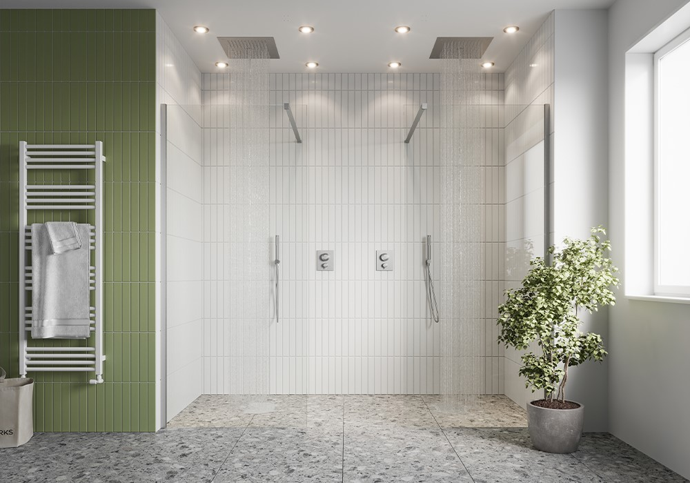 Luxury Showers | Indulge in one of the stylish spaces from the 10mm collection, including OPTIX 10 luxury shower enclosures or GALLERY 10 luxury walk in showers.