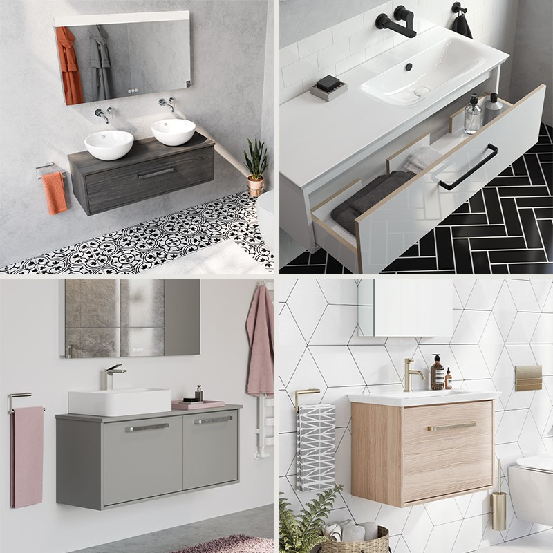 Luxury Bathroom Design | Welcome the outside in with Arena luxury bathroom units