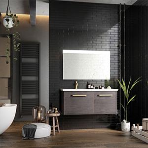 Indulgent bathroom, spa-like bathroom