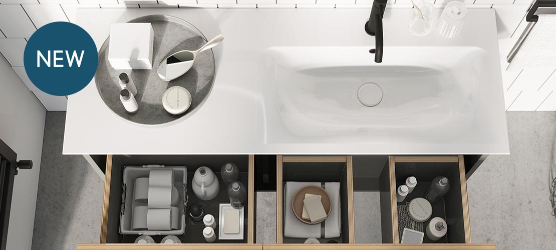 Arena Bathroom Furniture Unit.