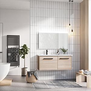 mindful bathroom, natural bathroom