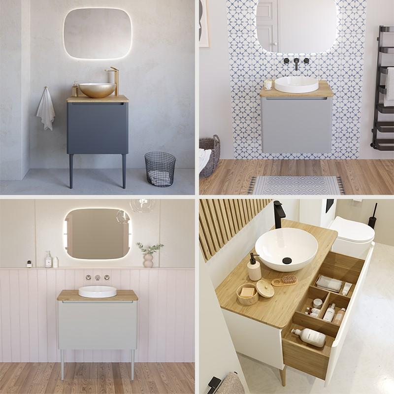 Luxury Bathroom Design | For the perfect luxury bathroom units to complement high end bathroom design, look no further than the Artist furniture collection