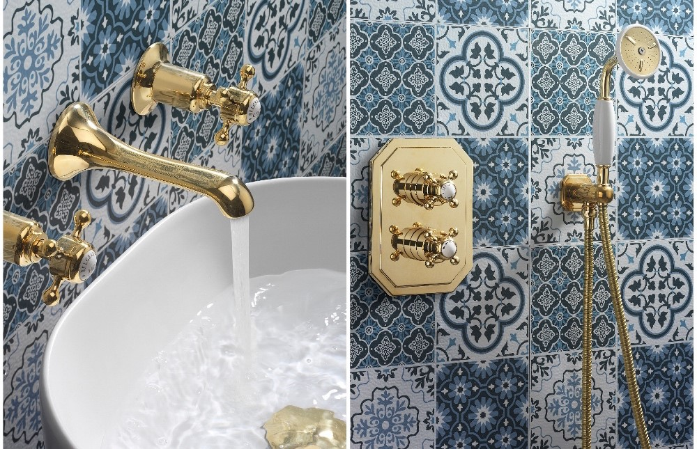 Belgravia Brassware | Enhance your modern traditional bathroom with unlacquered brass