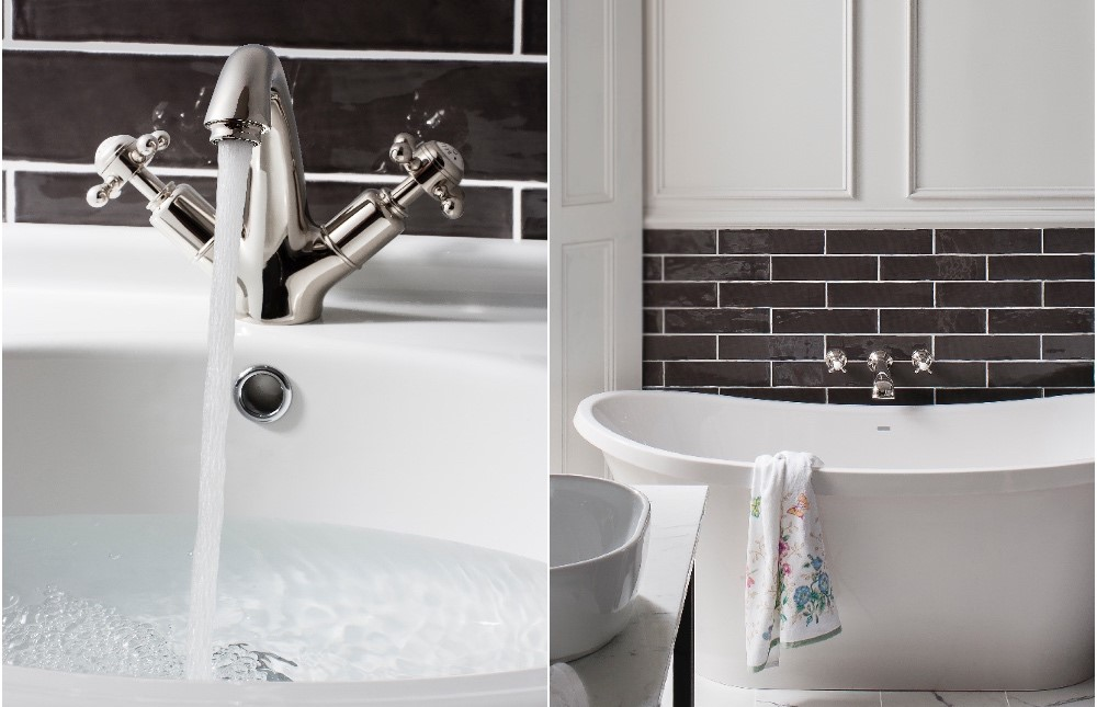 Belgravia Brassware | Inspire luxury with nickel brass finish for your modern traditional bathroom