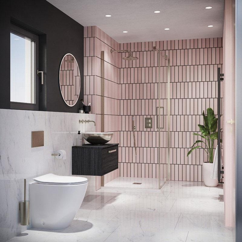 Modern Contemporary Bathroom | Inspire an uplifting contemporary en-suite, like this invigorating modern en-suite design to heighten your bathroom experience