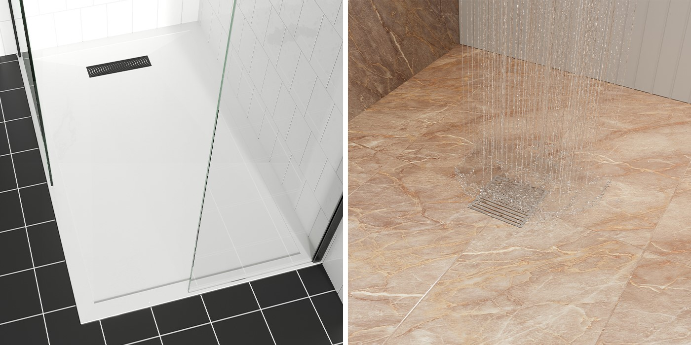 Contemporary Shower Room   With impressive quality to match flawless design, GALLERY 10 provides the ultimate luxury walk in showers
