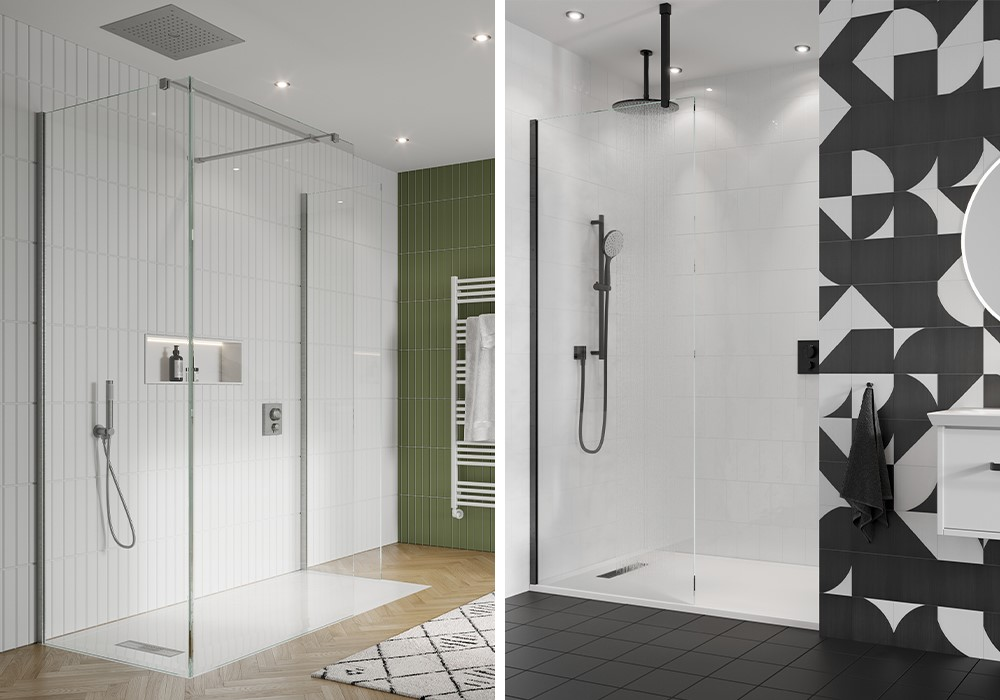 Luxury Showers | For a luxurious shower space to complement your bathroom scheme, introduce OPTIX 10 luxury shower enclosure of a GALLERY 10 luxury walk in shower