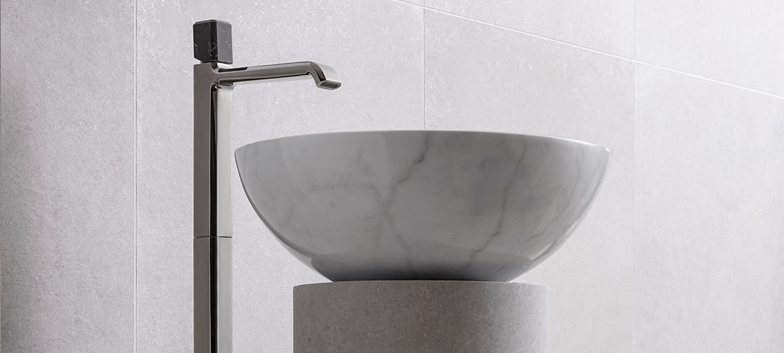 Italy brassware in POlished Marquinia