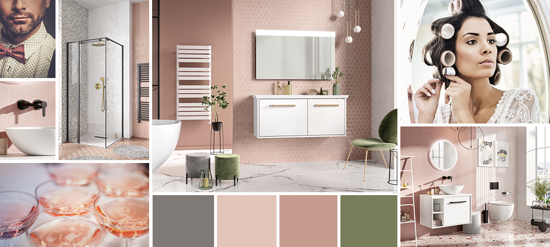 Divine, Millennium Pink Bathroom Design