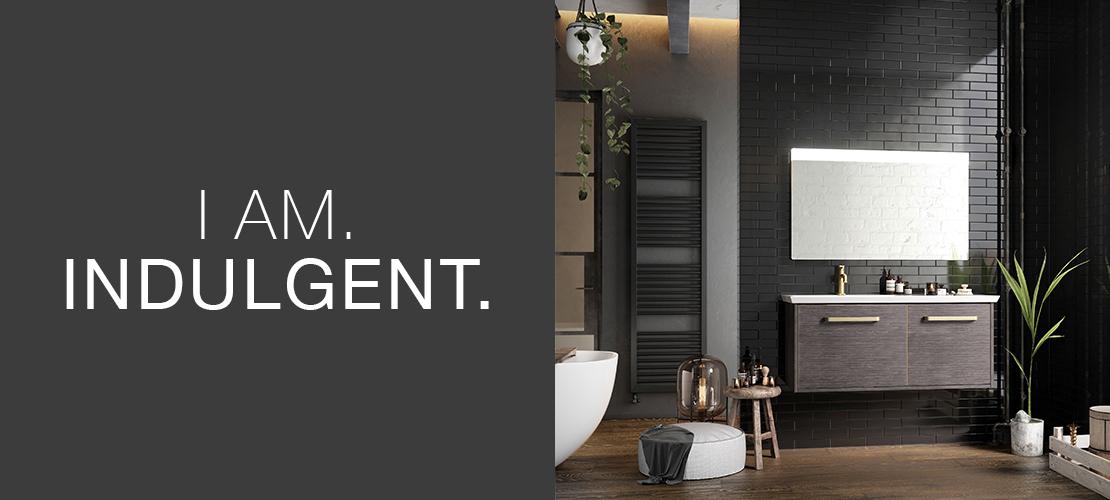 Indulgent bathroom, spa luxury