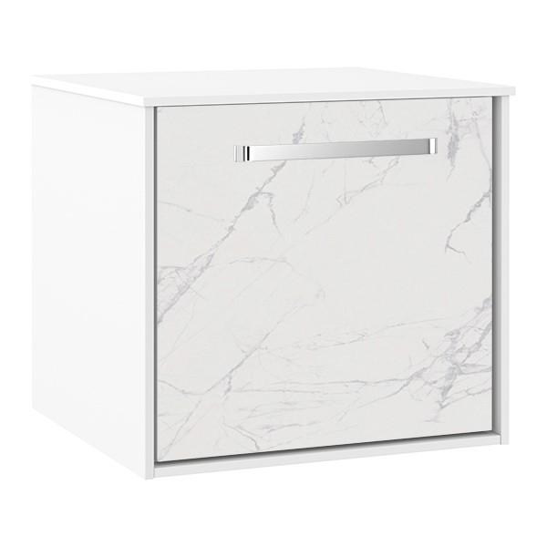 Contemporary bathroom furniture   Enhance your Infinity contemporary bathroom storage with optional tile front