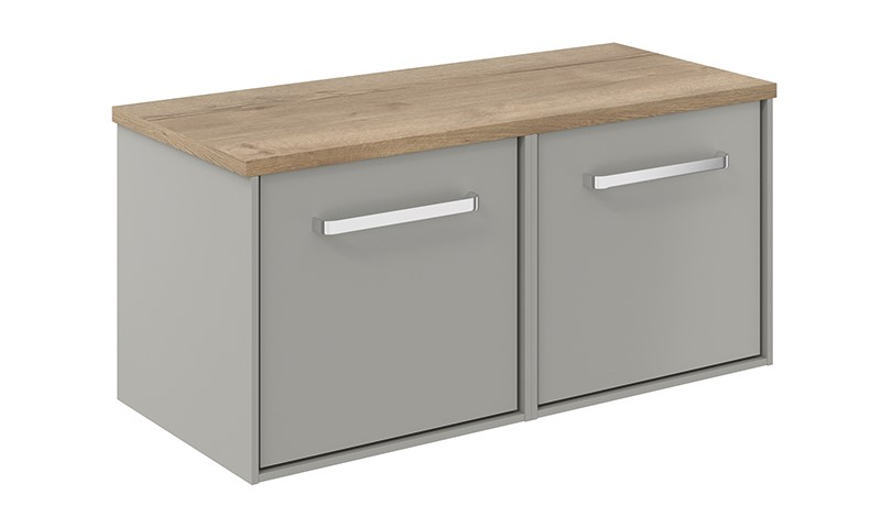 Contemporary bathroom furniture   Opt for incredible contemporary bathroom storage with Infinity 1000