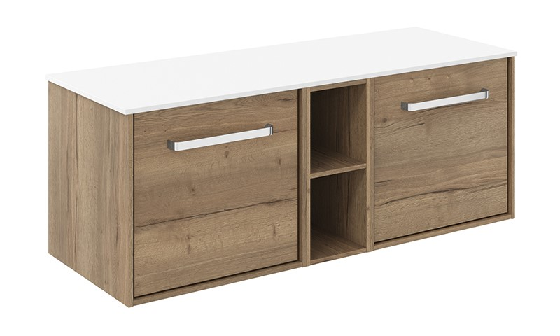 Contemporary bathroom furniture   For luxury in the your contemporary style bathroom, opt for n Infinity 1200 unit