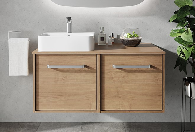 Contemporary Bathroom Furniture | Discover ultimate design freedom with the INFINITY for the perfect on trend bathroom design