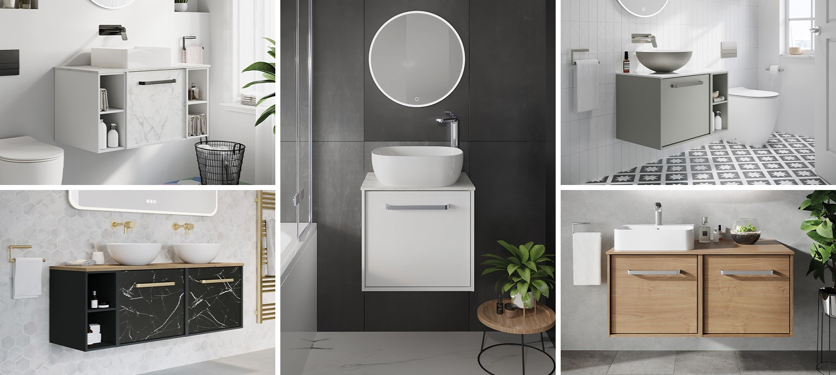 Contemporary bathroom furniture   Discover a luxury bathroom layout with the Infinity collection