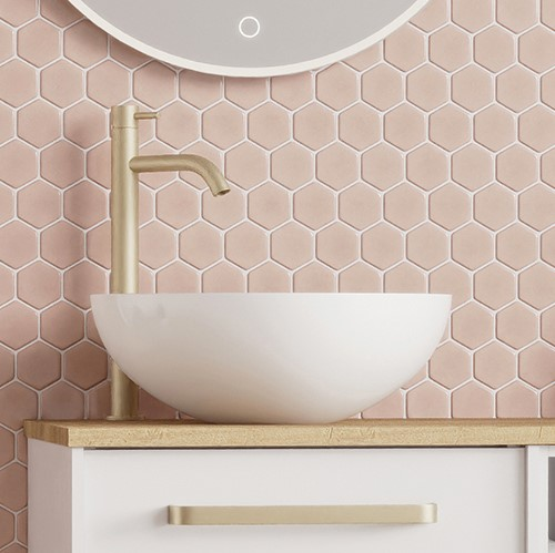 Contemporary bathroom furniture   Accentuate the look of your Infinity storage with a compatible basin