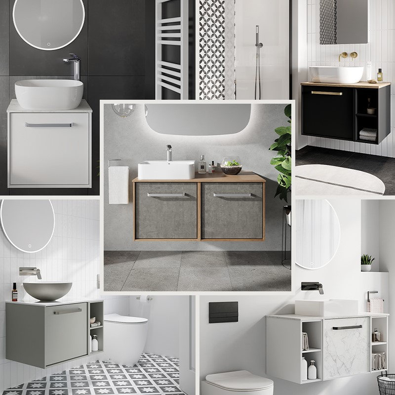 Luxury Bathroom Design | Discover ultimate personalisation for your high end bathroom design with Infinity furniture