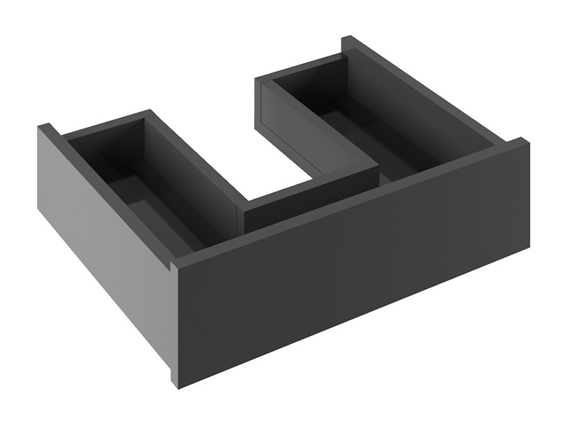 Contemporary bathroom furniture   For contemporary bathroom storage to organise all your self care essentials, add an internal drawer organiser to your Infinity furniture
