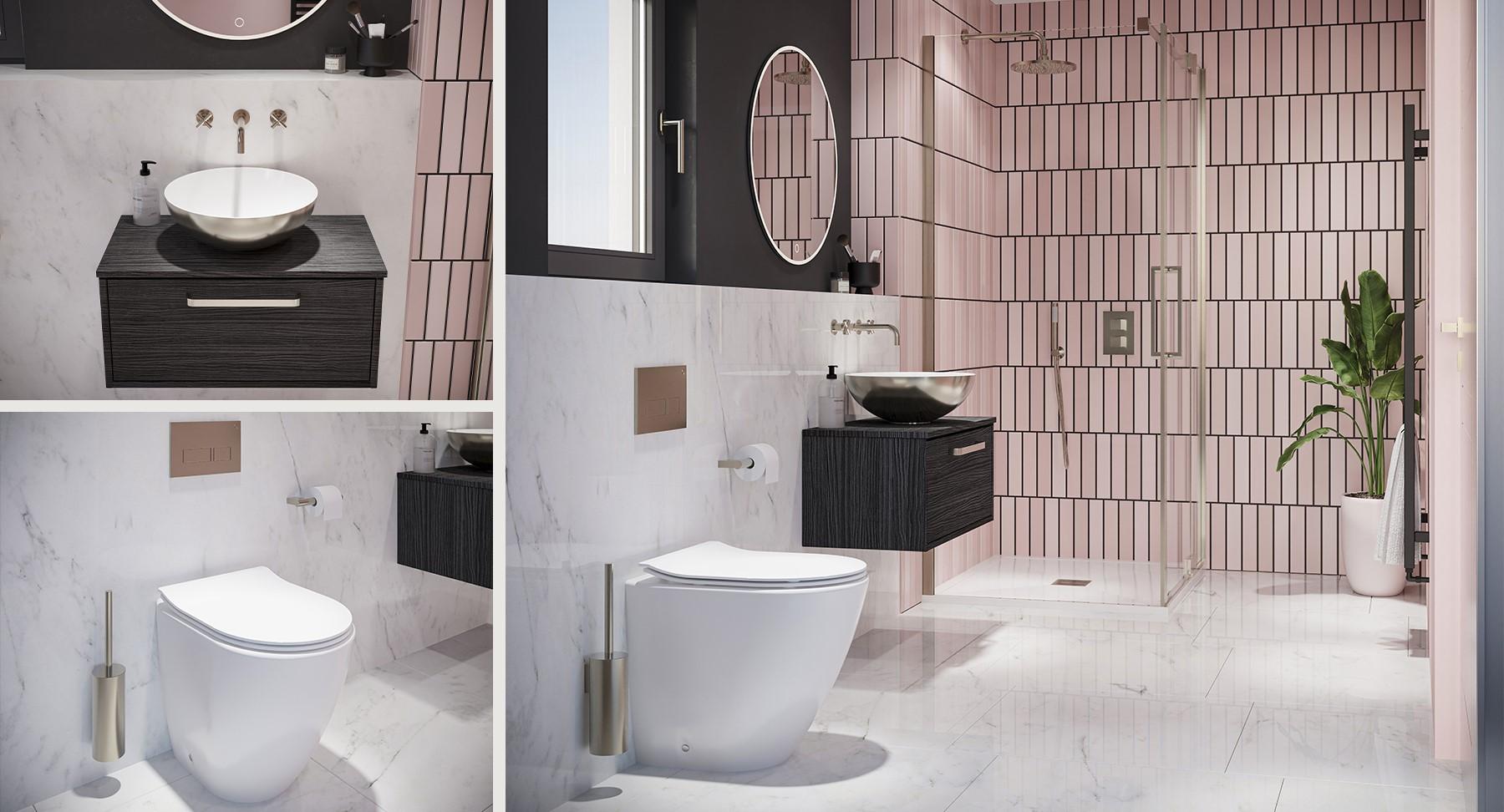Invigorating Modern Ensuite Bathroom
