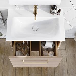 Arena Bathroom Furniture in Modern Oak