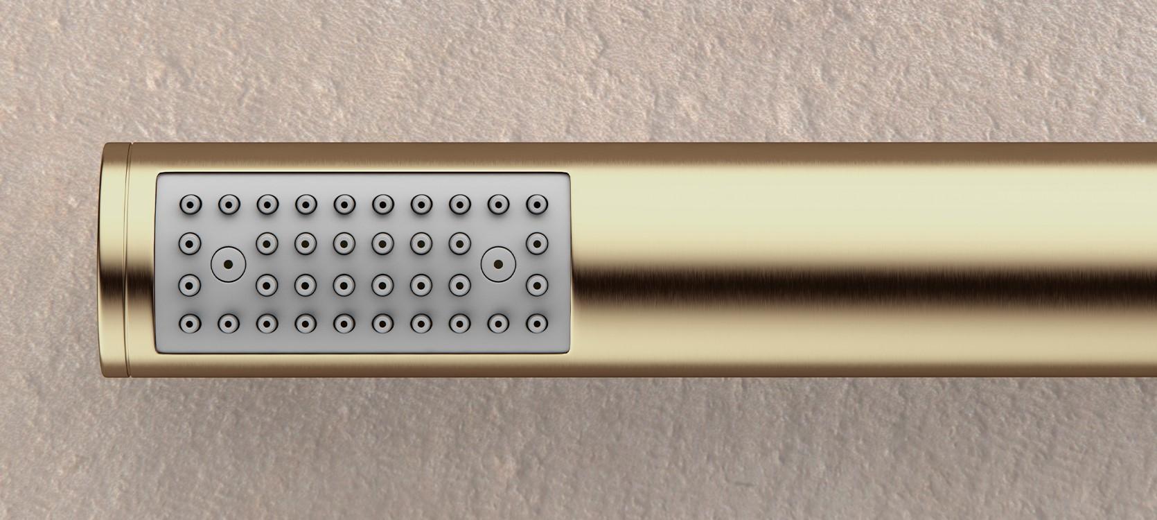 MPRO - Brushed Brass - Shower Handset