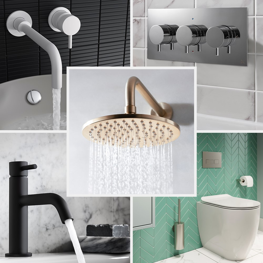 Luxury Bathroom Design | Create a timeless bathroom design with MPRO bathroom brassware as the perfect all-rounder