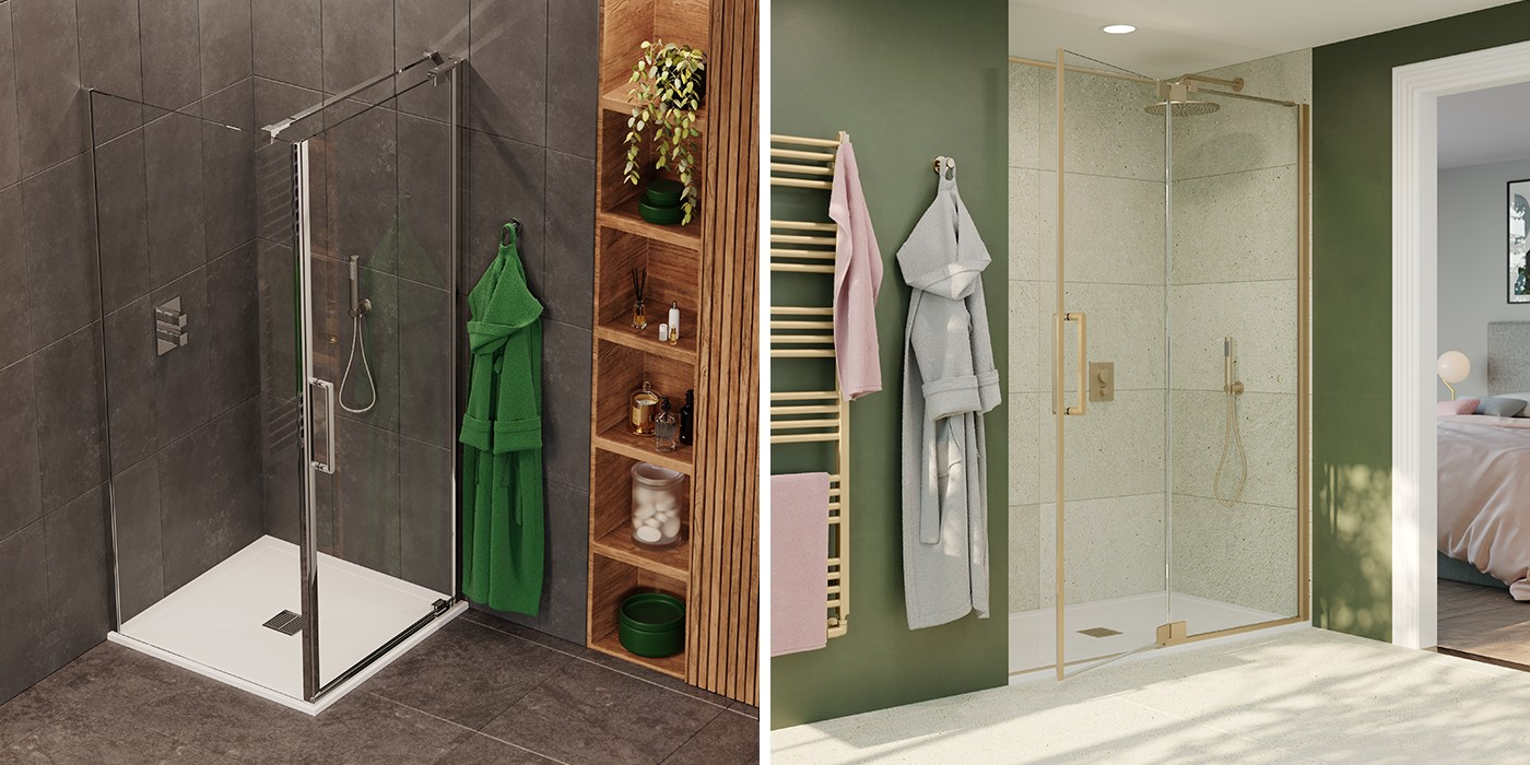 Contemporary Shower Room   A sophisticated space to unwind, the OPTIX 10 range provides beautiful shower enclosures to suit any scheme
