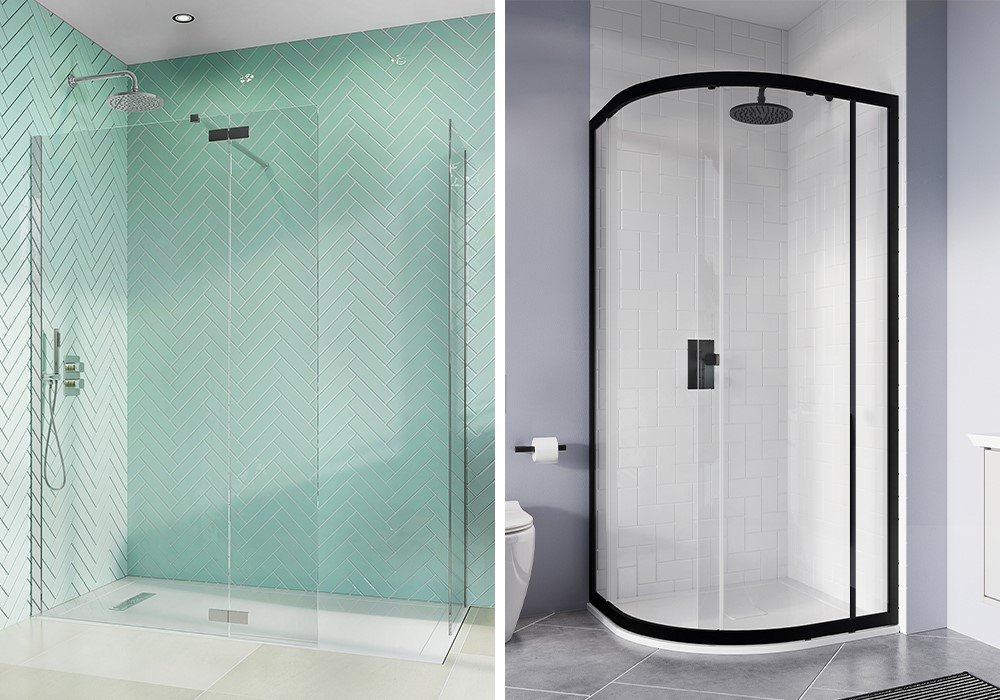Luxury Modern Bathroom | Inspire a luxury modern bathroom scheme with our impressive collection of luxury shower enclosures and walk ins